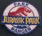 Jurassic Park Movie Logo Park Ranger Officer
