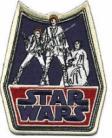 Retro Logo Luke-Leia-Han